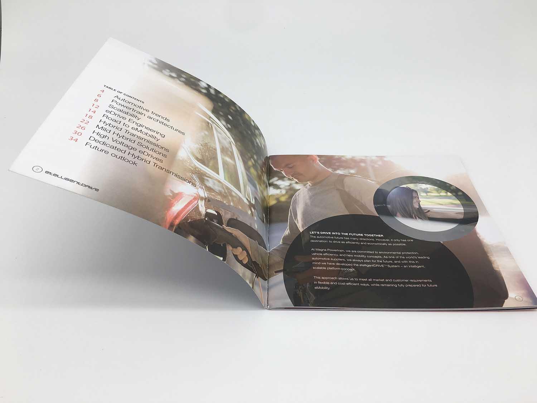 老城印刷厂画册样本宣传册定制