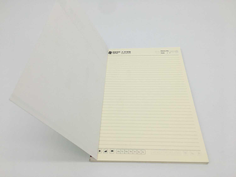 新罗牛皮纸笔记本印刷