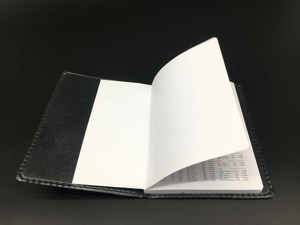 盘县皮革笔记本印刷