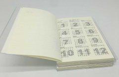 西区道林纸笔记本印刷